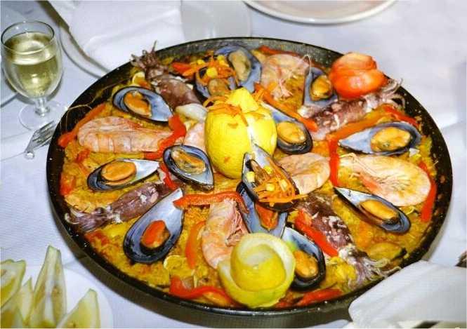 Dibujos paella imagui - Paella recette traditionnelle ...